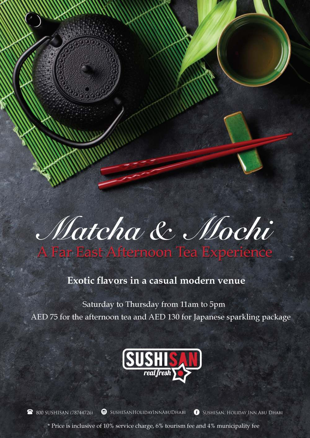 SushiSan Matcha and Mochi