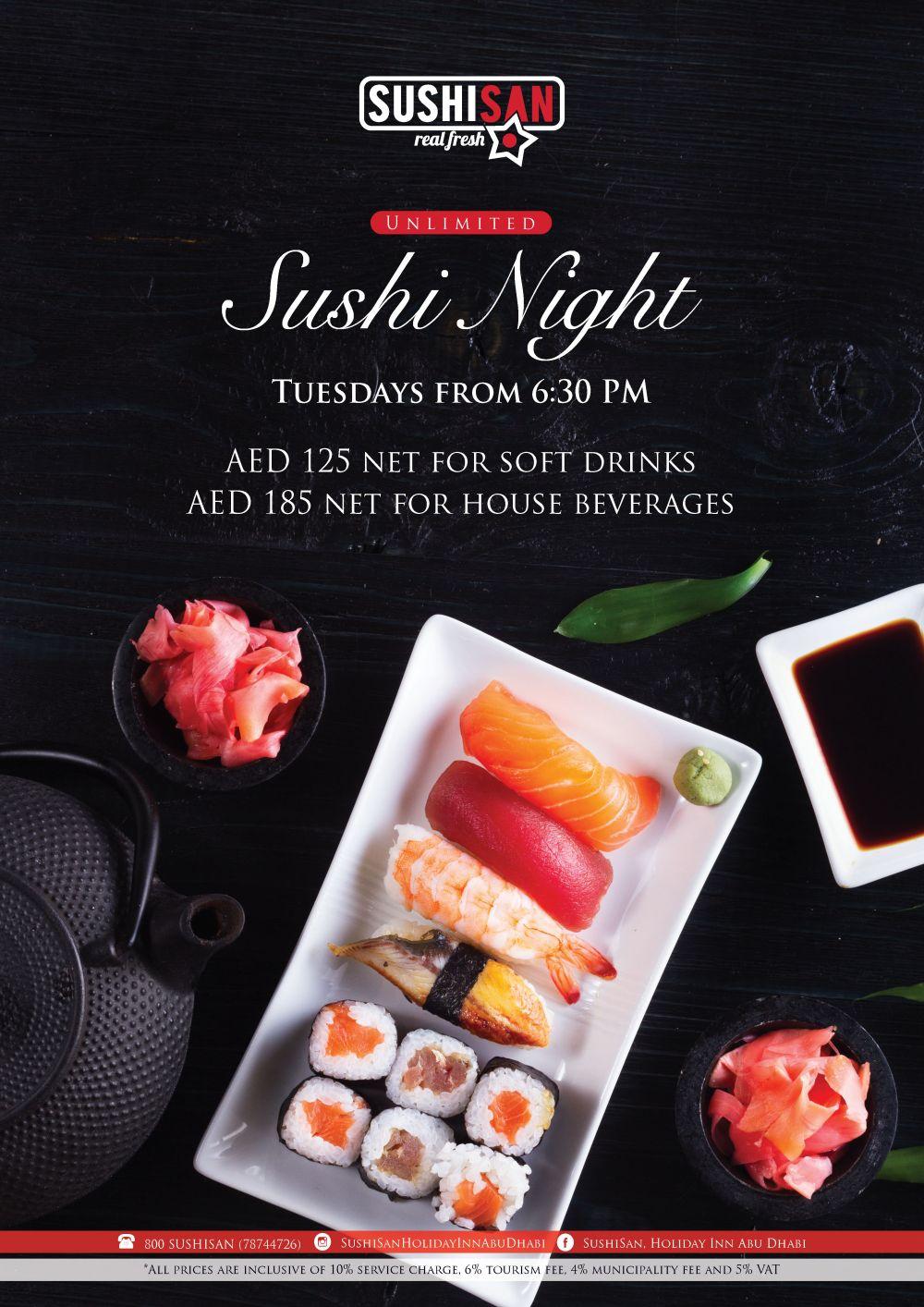 Sushi Night - A4